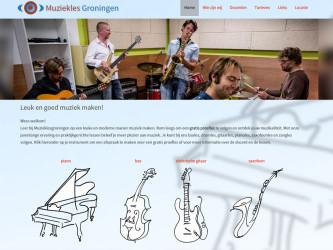website muziekles groningen